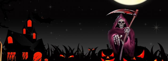 halloween horror alternative black banner, Halloween, Halloween Poster, Halloween Carnival Background image