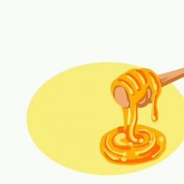 蜂蜜 蜂巢 食品促銷 蜜蜂背景 , 糖果, 主圖, 直通車 背景圖片