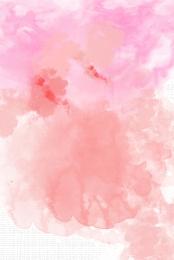 pink dynamic character ink poster , Ink Poster, Background, Ink Smudge Imagem de fundo