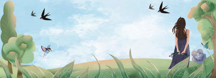 japanese forest girl windy, Japanese, Windy, Through Фоновый рисунок