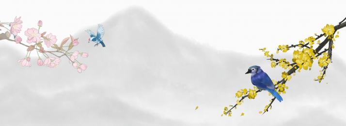 कला ताजा चीनी शैली ई कॉमर्स, स्याही, आपूर्तिकर्ता, परिदृश्य पृष्ठभूमि छवि