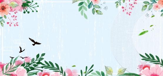 साहित्यिक सरल जापानी शैली गर्मियों में छोटे ताजा पोस्टर, में, जापानी शैली, साहित्यिक पृष्ठभूमि छवि