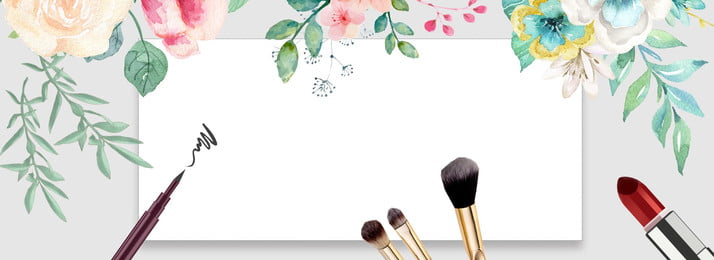 Download Free Aesthetic Wind Makeup Background Images Small Fresh Wind Makeup Beauty Taobao Blue Background Hd Background Png And Vectors