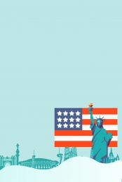 new york poster アメリカ 購買 アメリカ , 購買, アメリカ留学, ニューヨークのパノラマ 背景画像