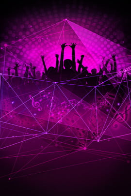nightclub promotion carnival halo character silhouette , Promotional, Passion, Carnival Фоновый рисунок