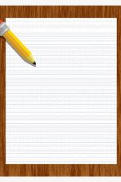 pencil letterhead red seal desktop , Minimalist, Material, Red Seal Imagem de fundo