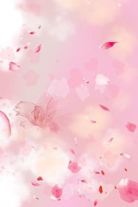 गुलाबी काल्पनिक पंखुड़ी उड़ान , फूल, गुलाबी, पंखुड़ी पृष्ठभूमि छवि