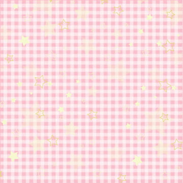पिंक प्लेड स्टार शेडिंग गिफ्ट , रैपिंग पेपर, प्लेड, पेपर पृष्ठभूमि छवि