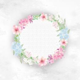 pink romantic flower geometric , White, Simple, Flower Фоновый рисунок