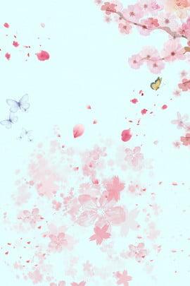 sansheng iii shili peach blossom 古代のスタイル 中国風 美的 , 美的, 花びら, ピンクの三世獅子桃の花のポスターの背景 背景画像