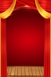 red curtain  happy news poster , Red, Curtain, Happy News Background image