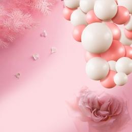 ロマンチックな 美しい 夢のような ピンク , セーターチェーンメイン画像, ピンク, ブローチ 背景画像