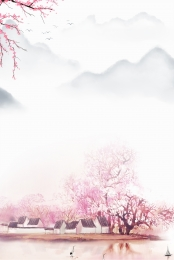 sansheng sanshi shili peach blossom peach blossom drunken peach blossom festival , Sansei Iii Poster, सैंशेंग, Peach Blossom पृष्ठभूमि छवि