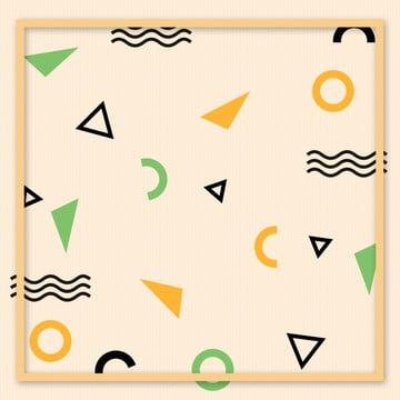 簡約 時尚 不規則圖形 廣告 , 幾何圖形, 簡約, 波浪線 背景圖片