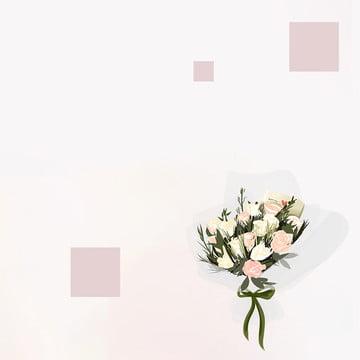 Simple flower bouquet women , Layered, Beauty, Master Hintergrundbild
