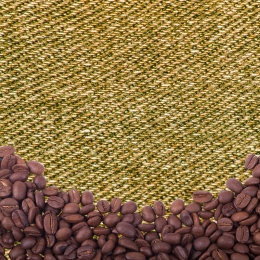 simple coffee bean background cloth background food promotion , Event Promotion, Main, Cloth Фоновый рисунок