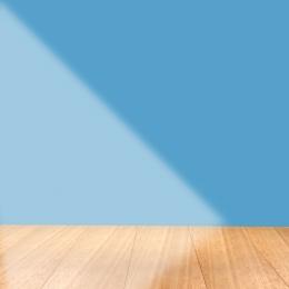 シンプル 木目調の背景 青色の背景色 家庭用品 , シンプル, ホリデープロモーション, 木目調の背景 背景画像