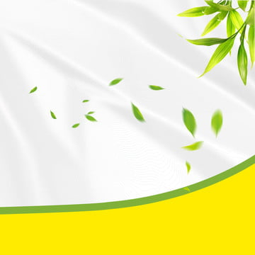 シンプル 白背景 緑の葉の背景 家庭用品 , ホリデープロモーション, 淘宝網メイン画面, メイン画面の背景 背景画像