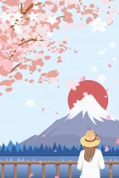 旅行 日本 日本文化 旅行 , 150ppi, 日本文化, シンプルな日本の旅行文化 背景画像
