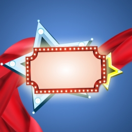 red ribbons neon lights light boards , Signboard Lights, Ribbon, Neon Signs Фоновый рисунок
