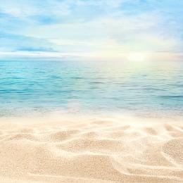 small fresh beach background promotion main map , Small Fresh, Blue Background, Beach Background Background image