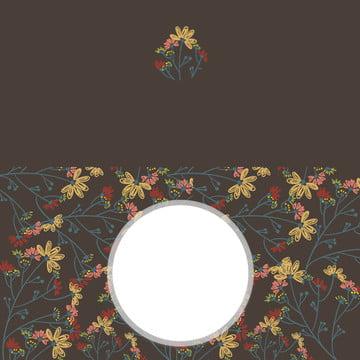 small fresh wedding invitation advertising background , Invitation, Small, New Background image
