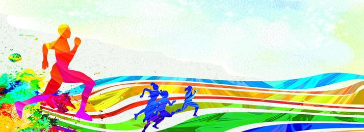 スポーツ展示会ボード 陸上競技ゲーム 会社のゲーム 学校のゲーム, スポーツ展示会ボード, 国民のスポーツ, 学校のゲーム 背景画像