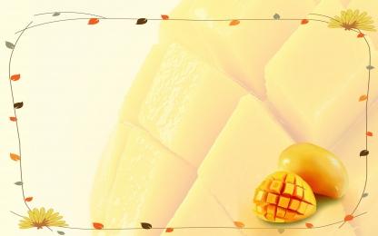 夏季 水果 芒果 促銷, 海報, 素材, 背景 背景圖片
