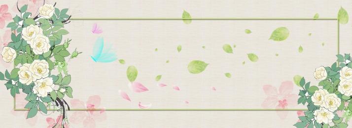 文藝風 小清新 春天 春夏出遊季, 女鞋, 箱包, 女裝海報 背景圖片