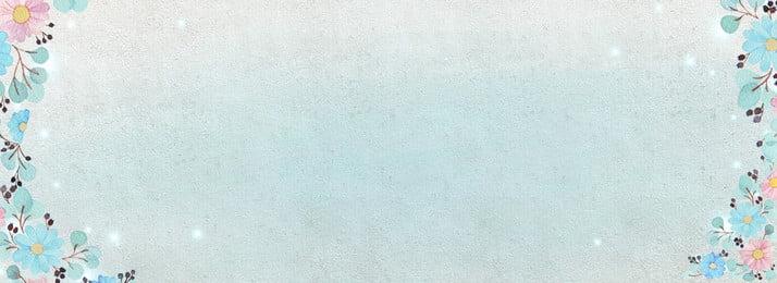 Taobao शरद ऋतु नए शांत नीले कला नए पृष्ठभूमि छवि