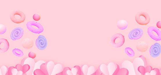 taobao सौंदर्य प्रसाधन घर बैनर पृष्ठभूमि गुलाबी पृष्ठभूमि प्यारा रोमांटिक, रोमांटिक, घर, बैनर पृष्ठभूमि छवि