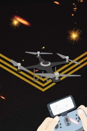 drone drone poster aircraft aerial photography , Innovation, Aerial Camera, Ultra-era Aerial Photography Фоновый рисунок