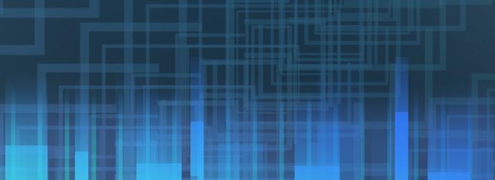 Technology lines banner dark blue Technology Simple Bubbles Фоновое изображение