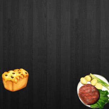 平鋪背景 黑色背景 食品促銷 蜂蜜 , 直通車, 平鋪背景, 食品背景 背景圖片