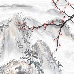 壁画 壁掛け 装飾壁紙 中国の背景 , 壁画, 壁紙, 中国風 背景画像