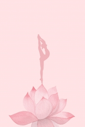 مرسومة باليد والخيال والكرتون صورة ظلية اليوغا , ناقلات, مرسومة, الإناث صور الخلفية