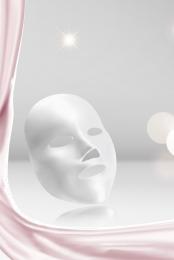 質感 光澤 炫光 女性 , 美容護膚, 天然, 矢量天然美容美妝護膚品背景 背景圖片