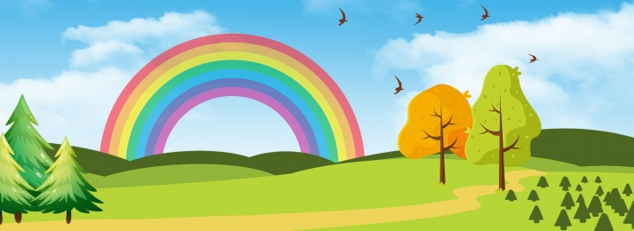 虹 日当たりの良い 天気予報 日光 プロモーションの背景 日光 夏 背景画像