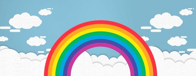 虹 日当たりの良い 天気予報 日光 プロモーションの背景 夏 日当たりの良い 背景画像