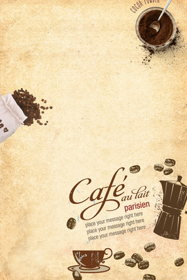 retro coffee cafe hand drawn , Vintage, Poster, Coffee Фоновый рисунок