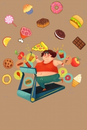 weight loss plan poster design , Weight Loss, Plan, Battery Background image