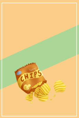yellow texture potato chips snacks , Yellow, Psd, Layered Фоновый рисунок