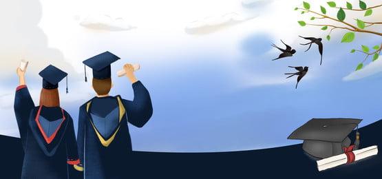 स्नातक स्तर की पढ़ाई स्नातक स्तर की पढ़ाई युवा स्नातक पार्टी स्नातक समारोह, स्नातक गतिविधियों, सीजन, पोस्टर पृष्ठभूमि छवि