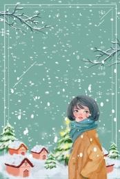 december hello winter winter , Hello, 钜惠, Winter Goods Imagem de fundo