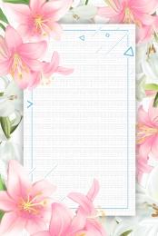 सुंदर हाथ से पेंट फूल फूल , सौंदर्य पोस्टर, फूल, स्वास्थ्य पृष्ठभूमि छवि