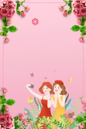 38女性の日 38女性の日 女性の日 女性の日 , 思いやりのある女性, 女性の日, 美しいロマンチックな38女性の日の背景 背景画像