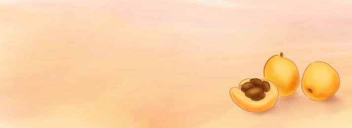 सुंदर yellow पीला हाथ से पेंट, फल, Yellow, पानी के रंग का पृष्ठभूमि छवि