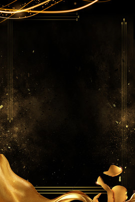 black gold business invitation invitation , Black Gold, Invitation, Source File Фоновый рисунок