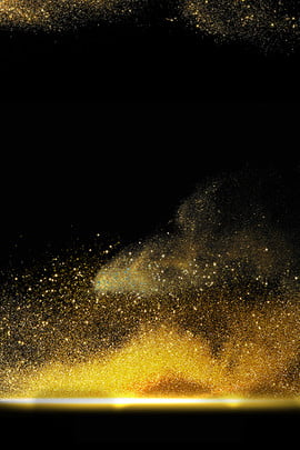 black gold world cup atmospheric gold powder background , World Cup, Light Effect, Atmosphere Background image