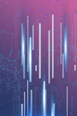 기술 포스터 로봇 파란색 분위기 , Theme, 로봇, 파란색 배경 이미지